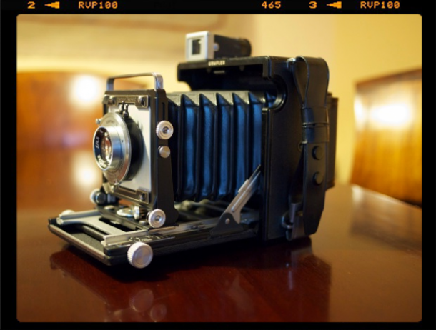 Cámara Graflex Century Baby Press